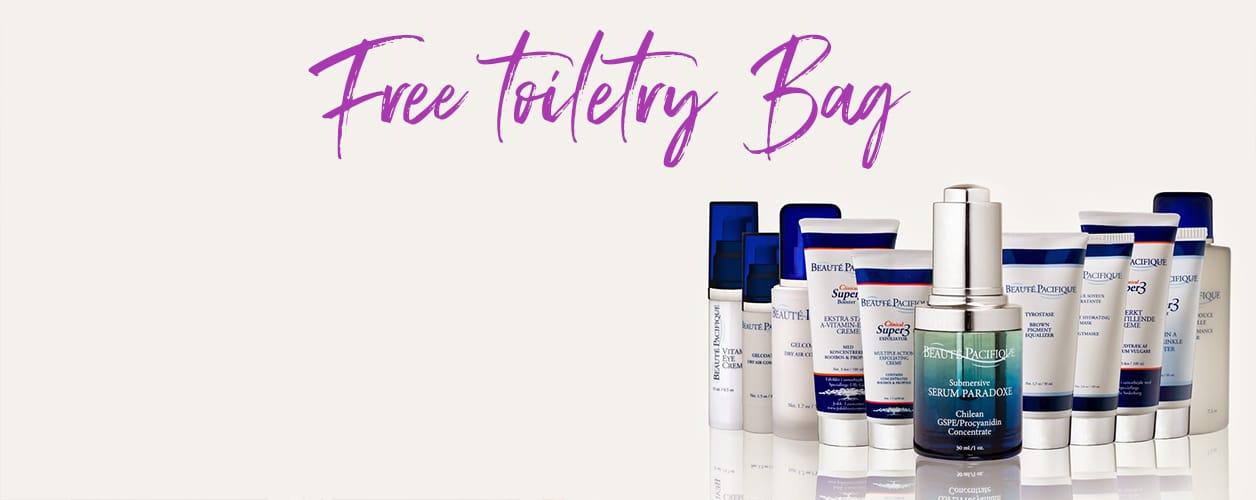 Beaute Pacifique Free Toiletry Bag